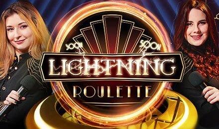 Lightning Roulette Live fra Evolution Gaming