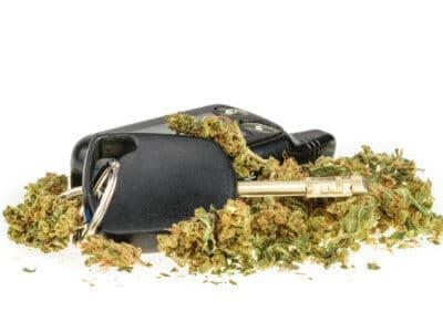 Auto fahren Cannabis