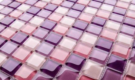Как клеить мозаику в ванной