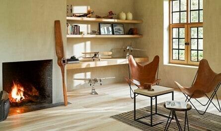 Zimmer im skandinavischen Design