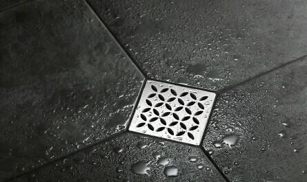 Abfluss der Dusche