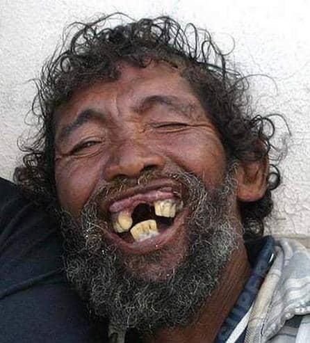 Gammel mann ler