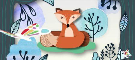 Fox Textured 2D Animation