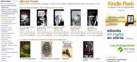 Amazon - mejor tienda online de ebooks