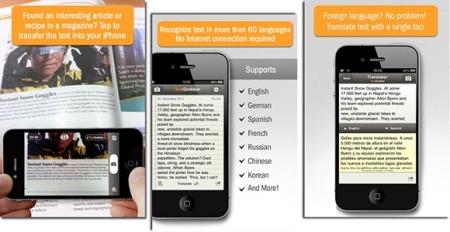 Abby TextGrabber app OCR para escanear fotos y documentos