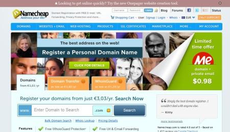 namecheap-comprar-registar dominios baratos