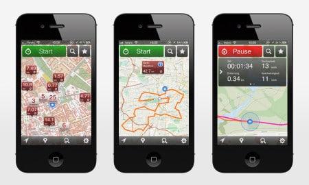 GPSies app mapas online