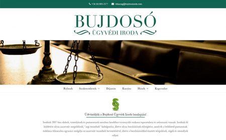 Weboldal Készítés Bujdosó Ügyvédi Iroda Részére