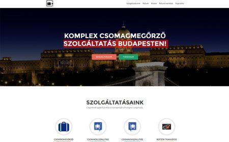 Weblap Készítés A Budapesti Csomagmegőrző Részére