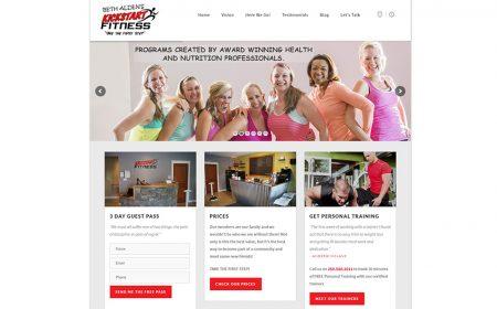 Weboldal Készítés KickStart Fitness Canada