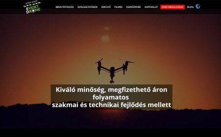 Weblap Készítés Az Event Drone Filmstúdió Részére