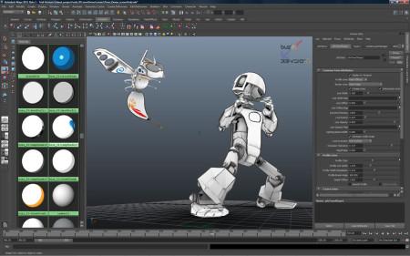 Autodesk Maya 2014 mejor programa animacion 3D