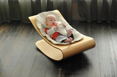 Coco Bloom Stylewood Rocker - mejor hamaca y silla mecedora para bebe