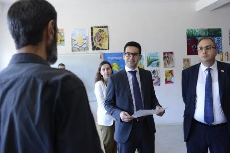 Արդարադատության նախարարն այցելել է «Արմավիր» ՔԿՀ, հանդիպել ցմահ դատապարտյալներին