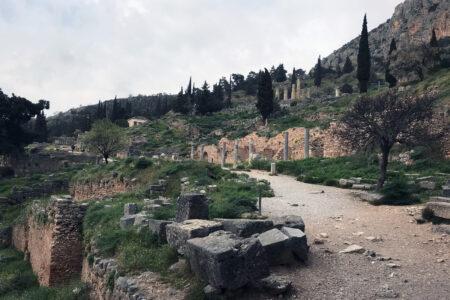 Ausgrabungen in Delphi