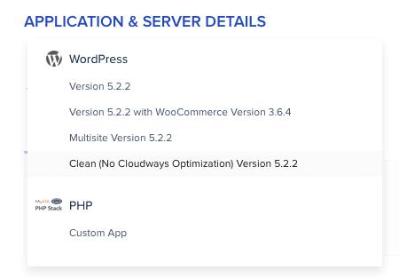Cloudways Install WordPress