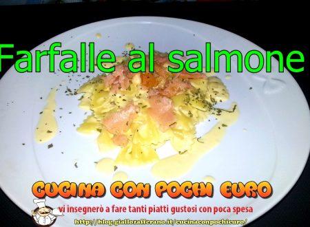 FARFALLE AL SALMONE
