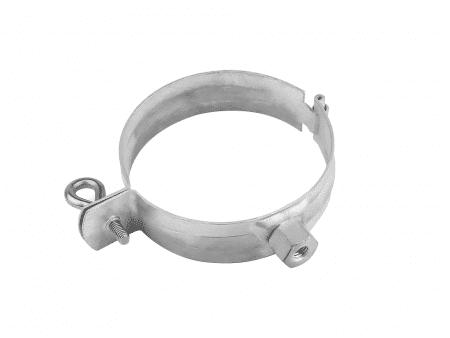Obejma uchwyt rur spustowych z nakrętką M8 / M10