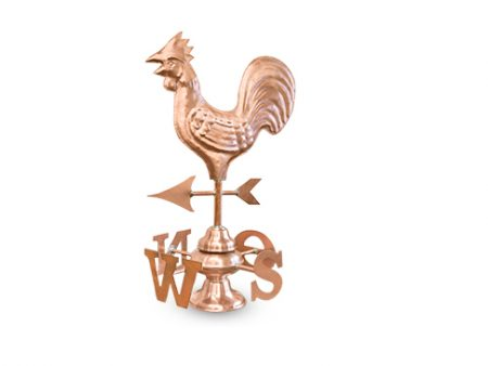 Copper Rooster Weather Vane