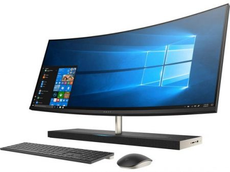 mejores ordenadores con pantalla tactil - HP Envy Curved All-in-One