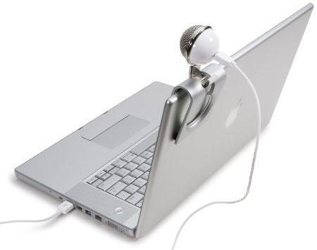 microfofono para portatil - Blue Snowflake