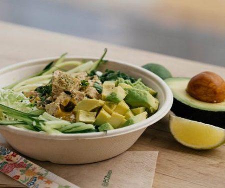 Platos veganos en dieta cetogénica.