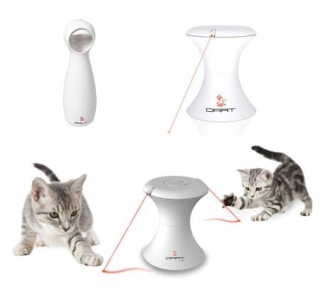 FroliCat Bolt juguete laser interactivo para gatos y perros