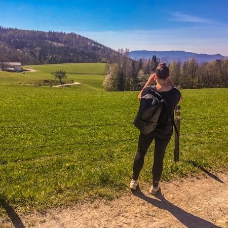 Gutenstein Alps Schneeberg view