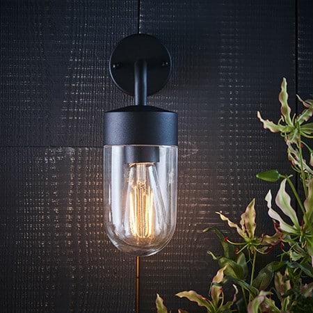 Endon North 79792 Outdoor Wall Light 1 Light