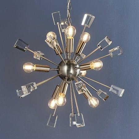 Endon Miro 81917 Pendant Ceiling Light 9 Light