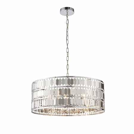 Endon Eldora 81965 Pendant Ceiling Light 5 Light