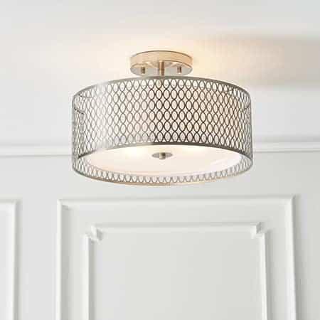 Endon Cordero 81966 Semi Flush Ceiling Light 3 Light