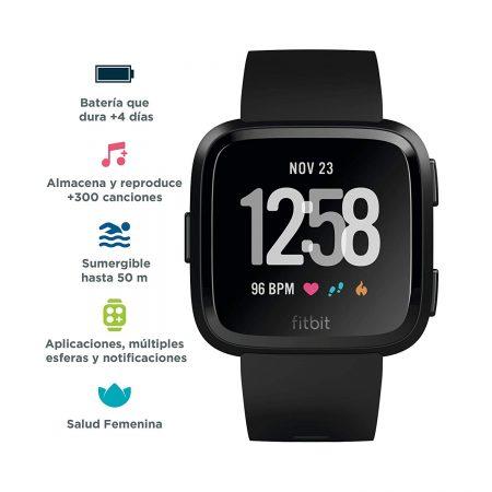 Fitbit Versa Smartwatch Deportivo - mejores regalos para papa