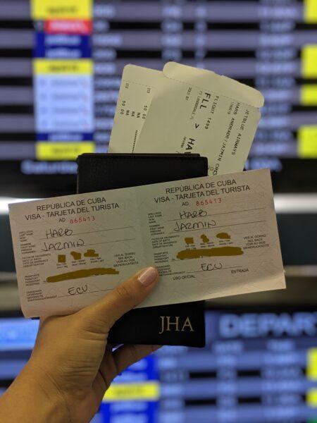 Purchase a Cuban Tourist Card