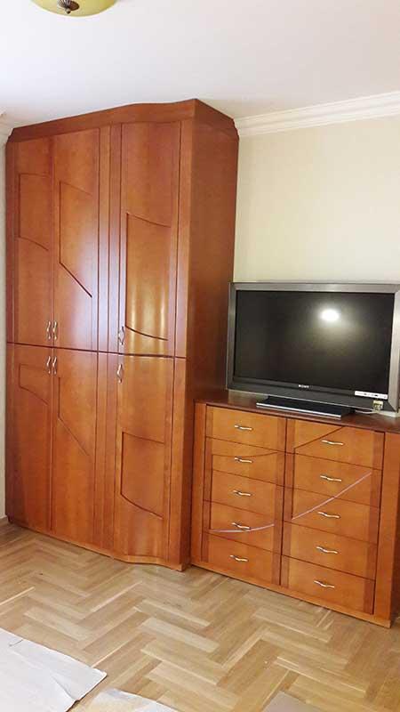 Hálószoba szekrény, szecessziós