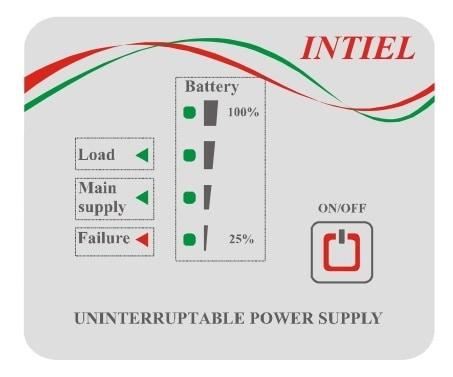 UPS инвертор INTIEL 150W