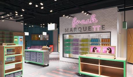 New concept magasin pour les DNVB