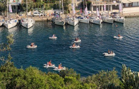 Segelhafen-Griechenland-Dingi-Race