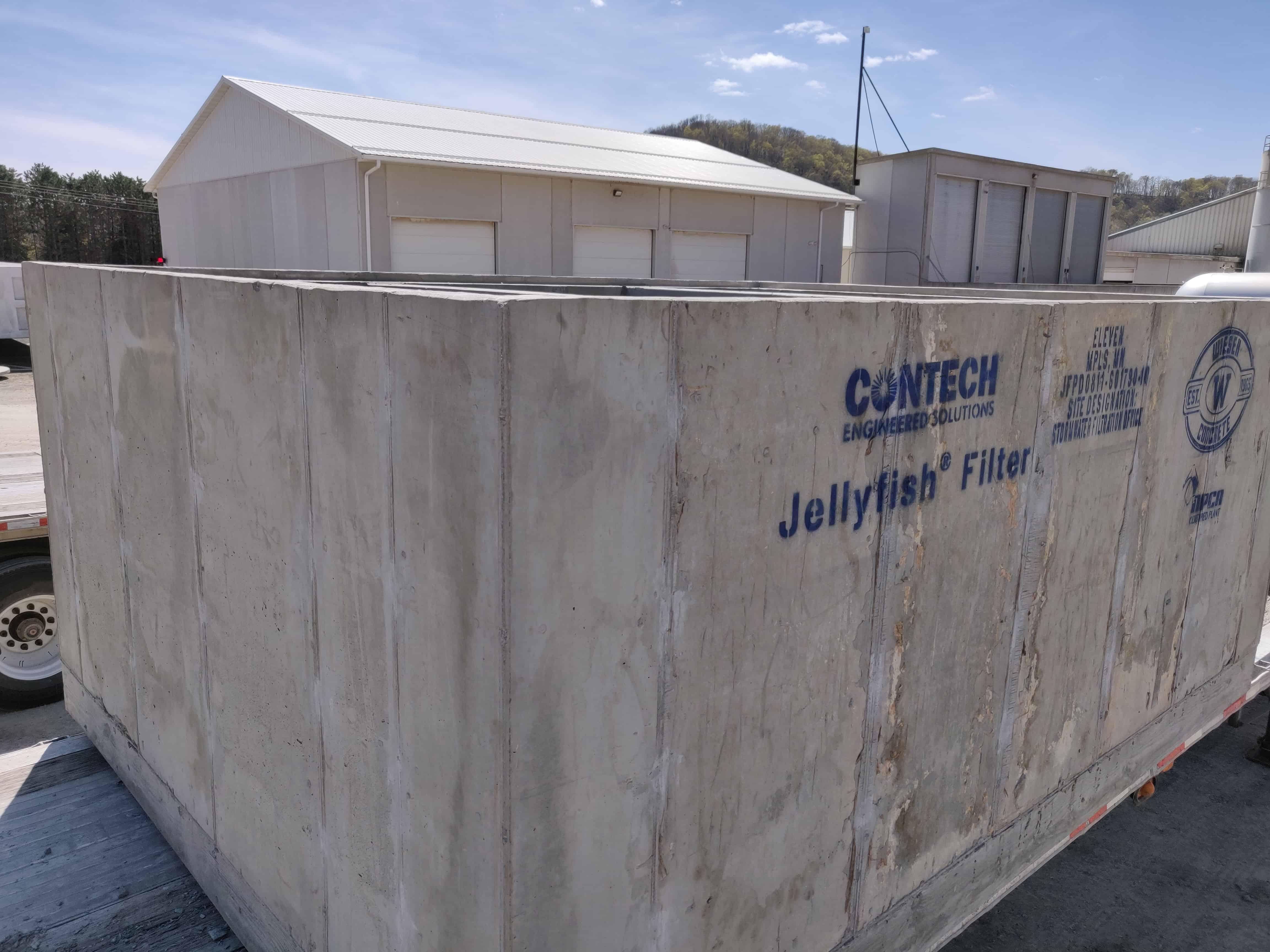 Contech Jellyfish Filter Eleven Condo Tower - Wieser Concrete
