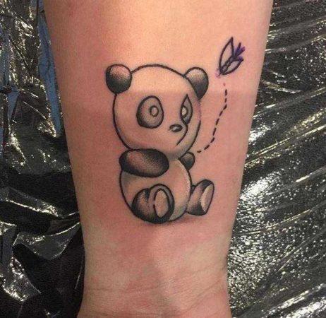 Панда тату