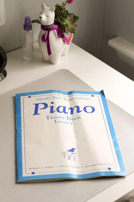 bent piano book