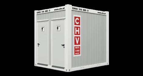 CHV 150WCDH 10 fuß WC Container 3m Damen und Herren