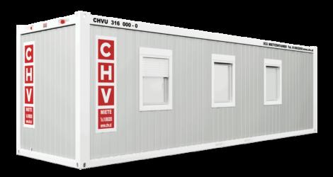 CHV-300.90 30 fuß Bürocontainer Fensterseite