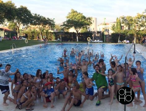 fiestas temáticas en piscina