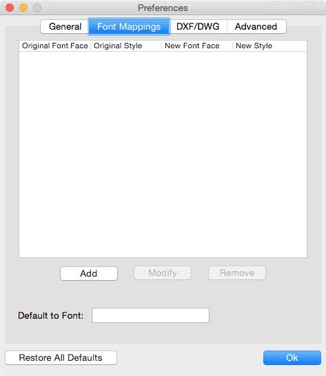 pdf2cad mac font handling