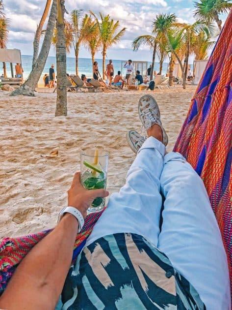 Tulum, Quintana Roo, Mexiko - Strand