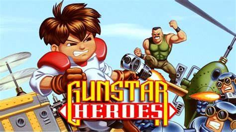 gunstar heroes sega genesis mega drive review