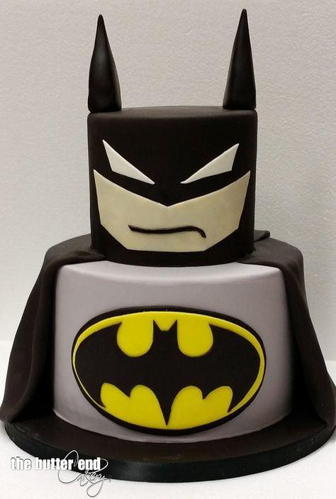 Batman Birthday Cake   Batman Party Ideas