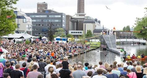 Tent huren in Leiden