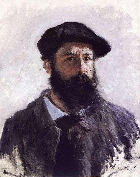 Claude Monet - Selbstportrait in Beret aus dem Jahre 1886
